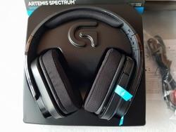 USED Logitech G933  Wireless 7.1 Surround Sound Gaming Headset free shipping wireless headphones
