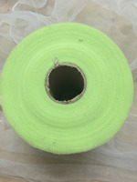 6inchx200yards Light Green Tulle Roll Spool Craft Wedding Party Decoration Organza Sheer Gauze Element Table Runner
