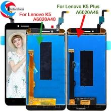 Сменный сенсорный ЖК-экран для Lenovo Vibe K5 A6020 A40, 5,0 дюйма, lenovo K5 Plus A6020 A46