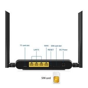 Image 5 - Wi Fi Router 300 Mbps กับซิมการ์ดสล็อตและ 4 5dBi เสาอากาศรองรับ VPN PPTP และ L2TP, openVPN WIFI 4G LTE โมเด็ม Router WE5926