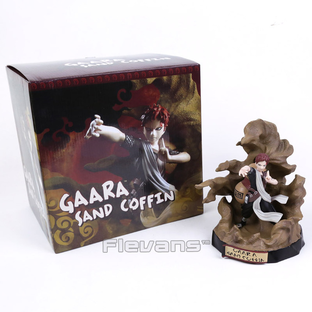Gaara Sand Coffin PVC Figure Toy