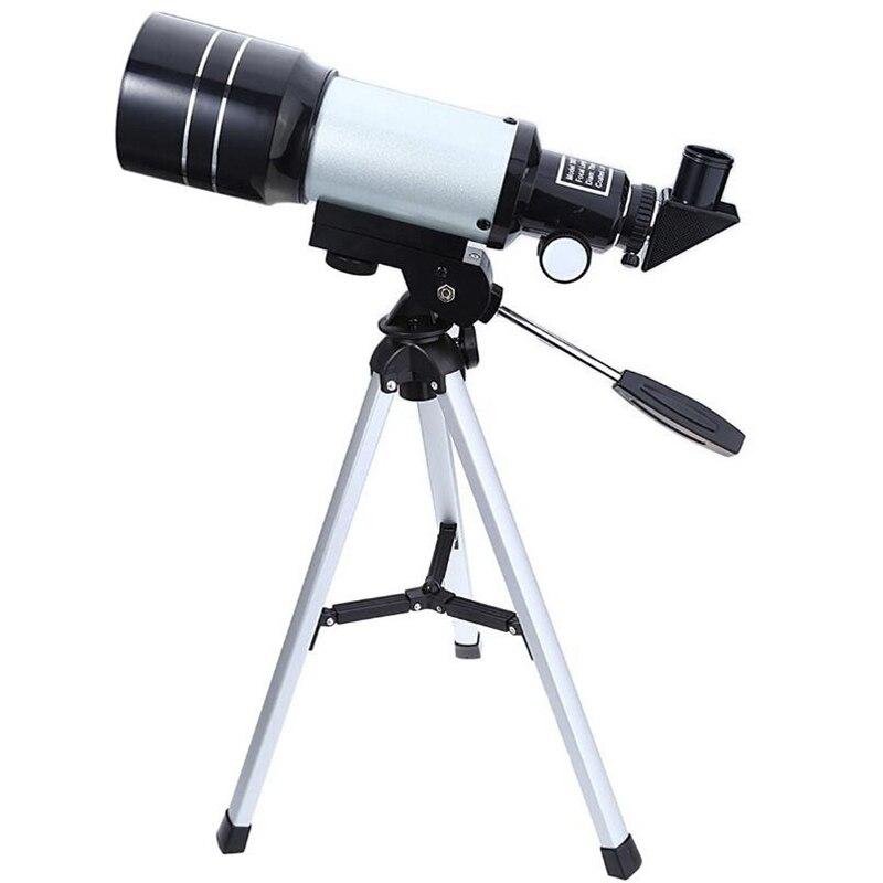 150X F30070M Monocular Telescope Outdoor Professional Space Astronomic Telescope with Portable Tripod Adjustable Lever Hot Sale цена