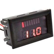 DC 6-100V Red LED Digital Display Voltmeter Mini Voltage Meter Volt Tester Panel For DC 12V Cars Motorcycles Vehicles