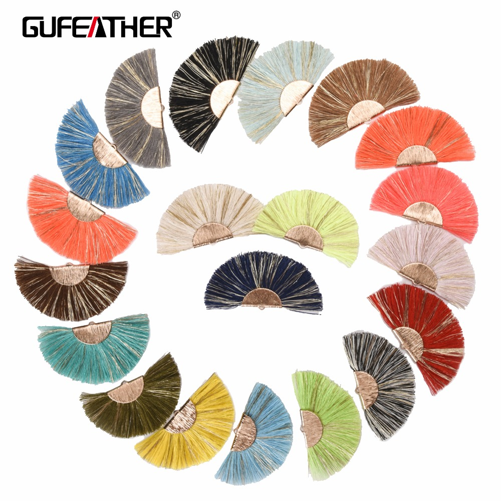 GUFEATHER L139,7cm,Cotton tassel,jewelry accessories,earrings accessories,diy,earrings making,decoration,2 pieces/lot стоимость