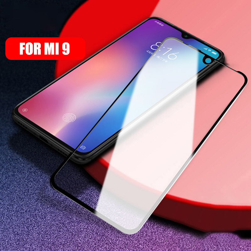 Glass For XiaoMi Mi9 Mi9 SE RedMi 7 Note7 Note 7 Pro full Tempered Glass 9H Explosion proof Screen Protector Film Glass in Phone Screen Protectors from Cellphones Telecommunications