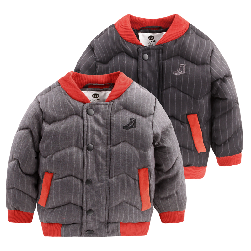 Oğlan dalgalar ile kalın pamuk dolgulu giysiler Sıcak kış 2016 çocuk kış ceket gelgit U4557 pamuk-yastıklı ceket kaban
