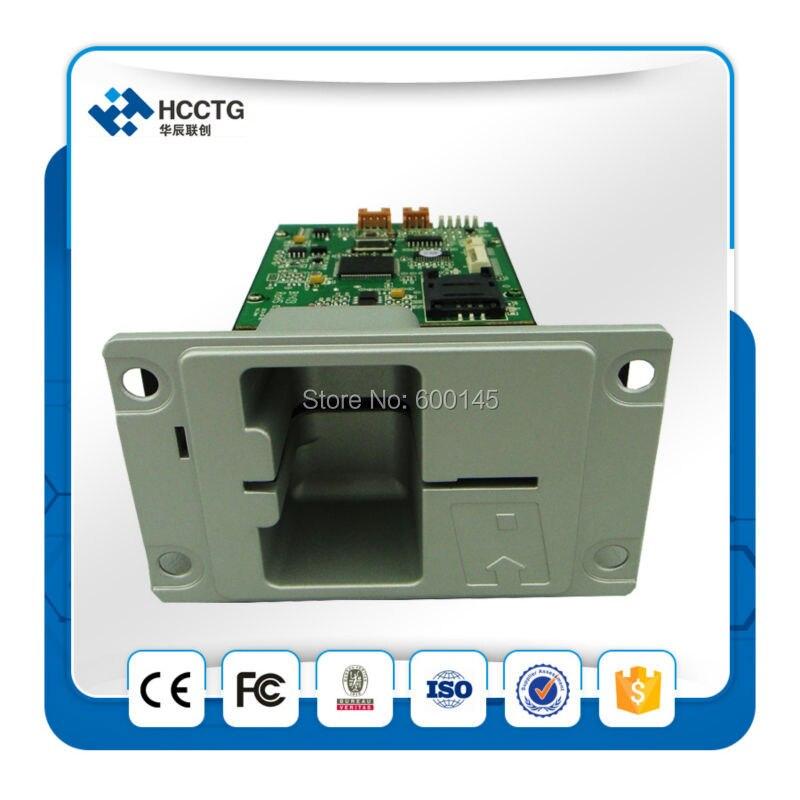 Chinois 13.56 MHz série Atm puce lecteur de carte écrivain / distributeur de cartes kiosque --- HCRT288K