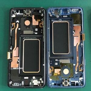 Image 4 - 5 יח\חבילה פגום LCD מסך עם מסגרת Assmebly עבור Samsung S6edge בתוספת s7edge S8 בתוספת זכוכית/מסגרת הפרדת Trainning