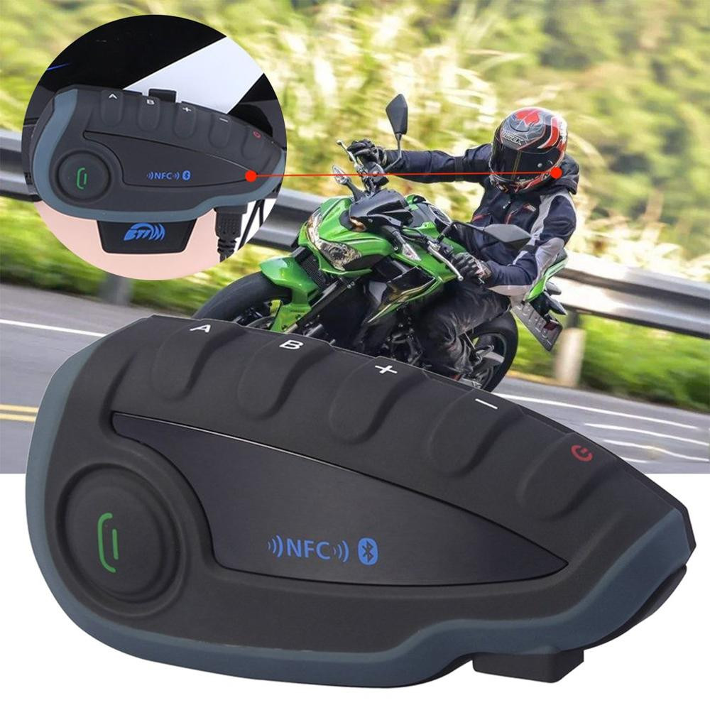 Freedconn TCOM-02 Motorcycle Helmets Headset Motorcycle Helmet Wireless Headphone Control For MP3/4 Radio IPod