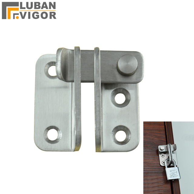 Thick Stainless Steel Door Latch Wardrobe Bathroom Boltmore Safe And Strong
