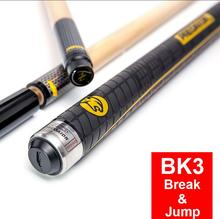 PREOAIDR 3142 BK3 Billiard Pool Punch & Jump Cue 13mm Tip Black Yellow Stick Cues Sports Handle Kit China