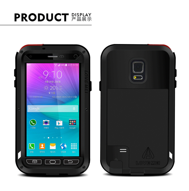 best website b3169 2823c US $35.0 |Love Mei Waterproof Case For Samsung Galaxy Note 4 N910F N910C  N910H Hard Shockproof Aluminum For Galaxy Note4 Cases Phone Cover-in Fitted  ...