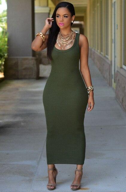 Super Long Women Tank Top Dress Extra Plus Size Clothing Female ...
