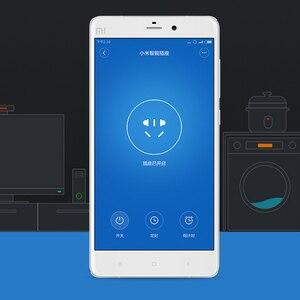 Image 5 - 100% המקורי Xiaomi חכם שקע תקע בסיסית WiFi אלחוטי מרחוק שקע מתאם כוח לסירוגין עם טלפון