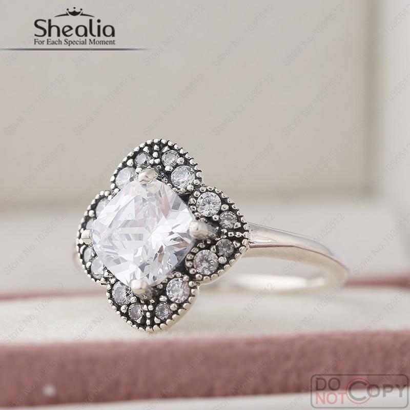 91ef9b557 Shealia Jewelry Crystal Floral Fancy Ring With Cz Autumn 925 ...