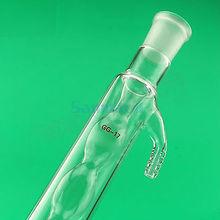 400 ミリメートル 19/26 ジョイント allihn ガラスコンデンサーソケット電球蒸留ラボガラス製品