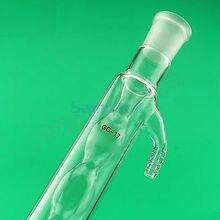 400mm 19/26 Joint Allihn Glass Condensers Socket Bulb Distillation Lab Glassware