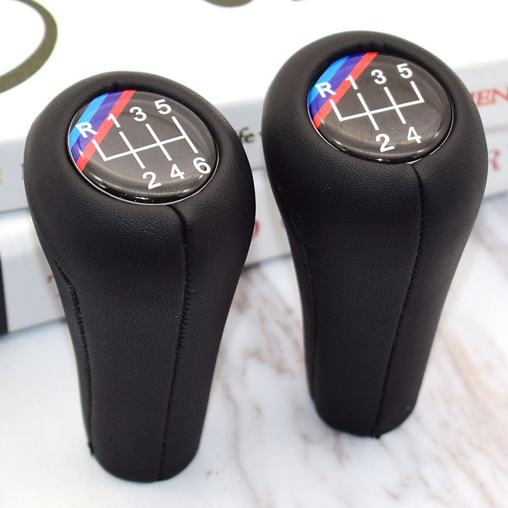 5 6 geschwindigkeit Echt Leder Hand Schaltknauf Für BMW 1 3 5 6 Serie E30 E32 E34 E36 e38 E39 E46 E53 E60 E63 E83 E84 E87 E90 E91