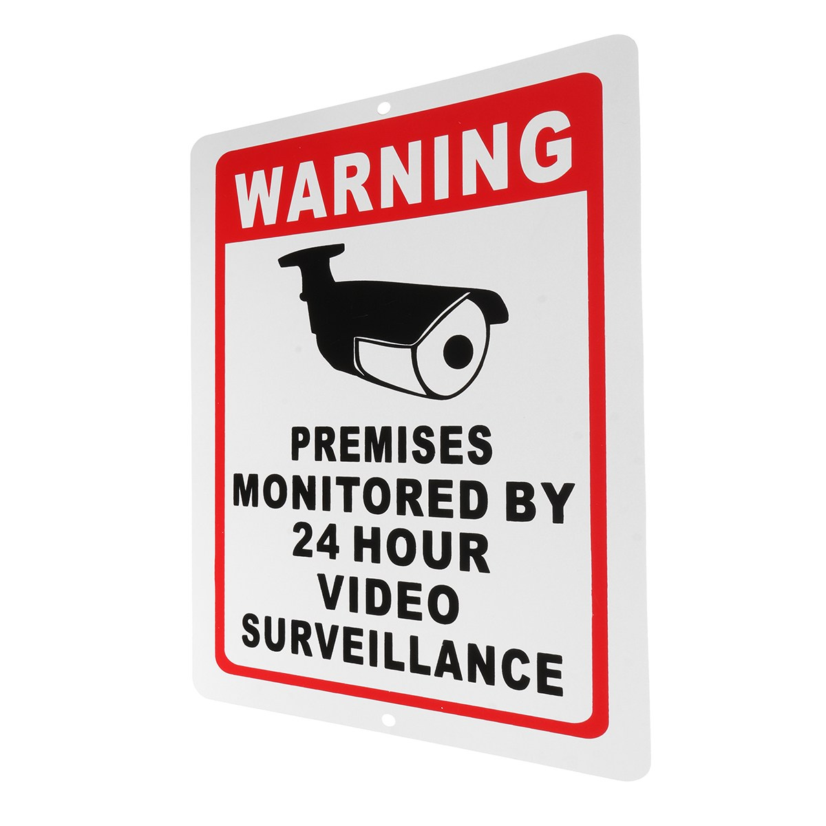 NEW Safurance 18x28cm Home CCTV Surveillance Security Camera Video Sticker Warning Decal Sign Home Safety new safurance 10pcs lot waterproof sunscreen pvc home cctv video surveillance security camera alarm sticker warning decal signs