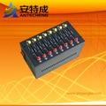 Wavecom modem 8 port bulk sms gprs gsm  usb  modem Q2406 Ussd stk mobile recharge