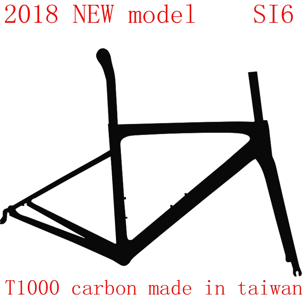 2018 NEW T1000 UD carbon road frame bike cycling bicycle racing frameset size 44 49 52