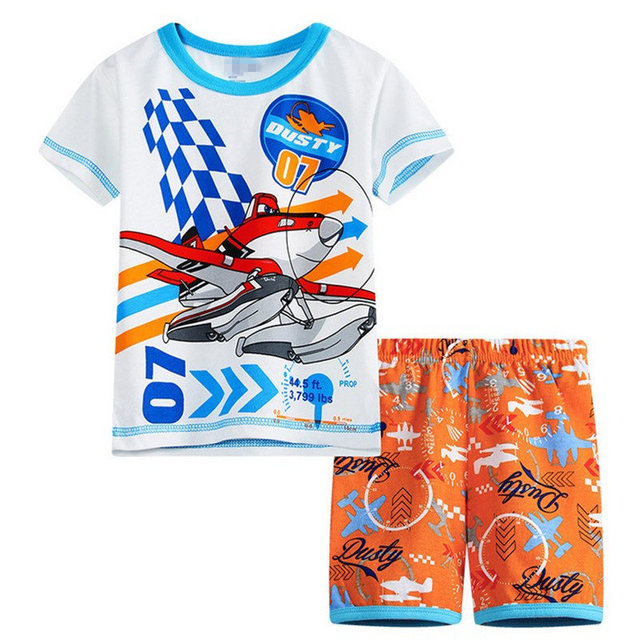 7b2c0b291cac Retail New Design Summer Kids Baby Sleepwears Suits Boys Pajamas ...