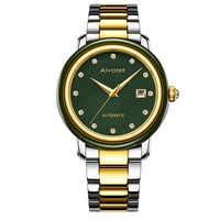2019 venta directa Real impermeable hombres y mujeres relojes de negocios con volante de diamante en calendario