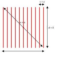 HINDE Diffractie optische lens 11 lijnen-in Toneelbelichtingseffecten van Licht & verlichting op