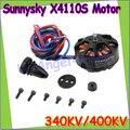 SUNNYSKY X4110S 340KV 400KV Brushless Motor Disco para Multi-Aeronave de rotor del motor de varios ejes motor del disco Envío gratis