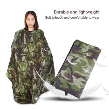 Waterdicht Oilproof Haircut Cape Kapper Kappers Wrap Camouflage Kleur Kappers Levert Salon Hair Styling Accessoire(China)