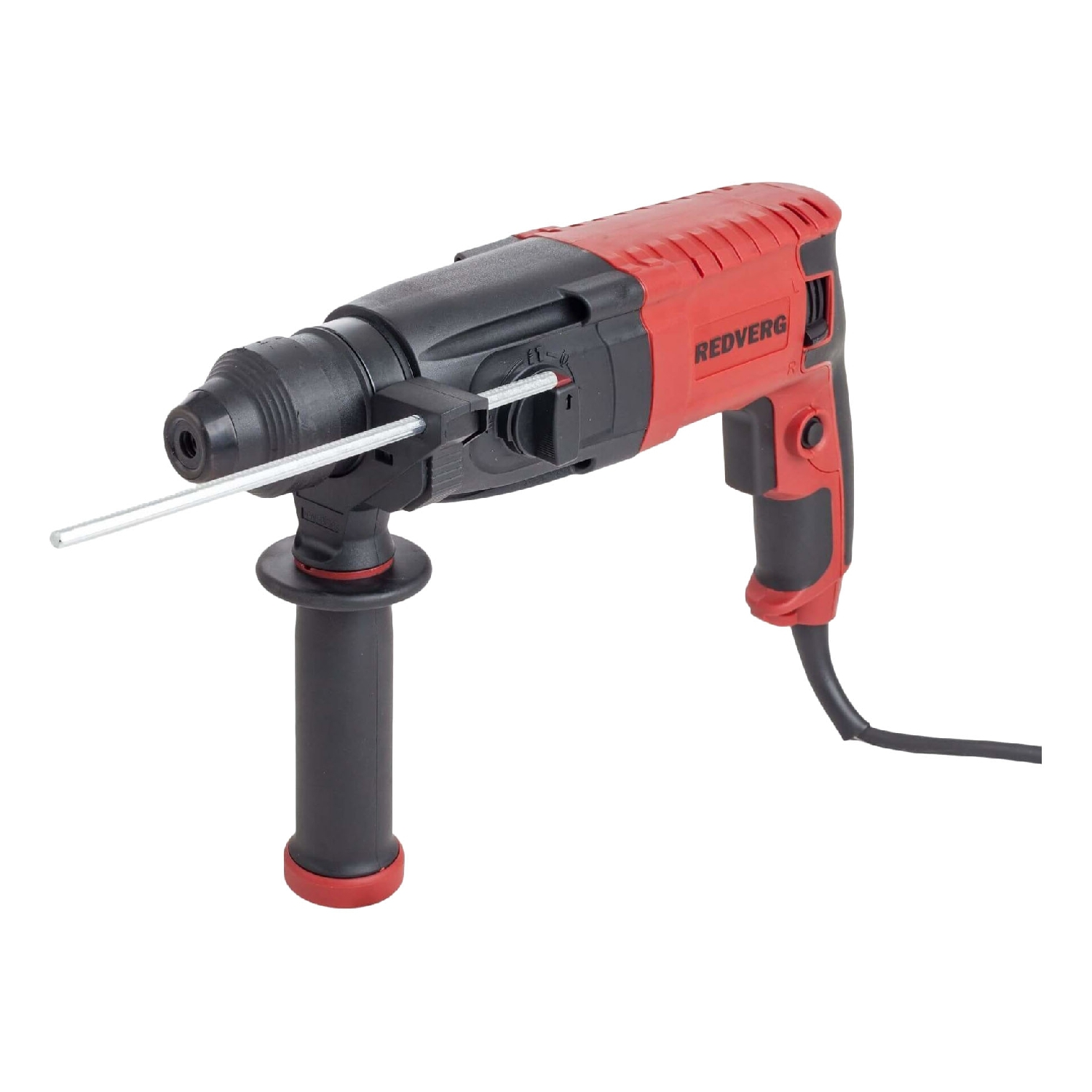 Hammer Drill electric RedVerg RD-RH850 (power 850 W, SDS + Chuck, energy impact 2,5 J) hammer drill electric redverg rd rh1500 power 1500 w drilling in concrete to 36mm антивибрационная system