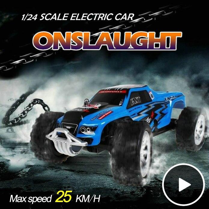 Высокое качество 1:24 высокоскоростной дети автомобили WLtoys A999 детские игрушки RC грузовик модель супер первоначально WL A999 Chirstmas подарки