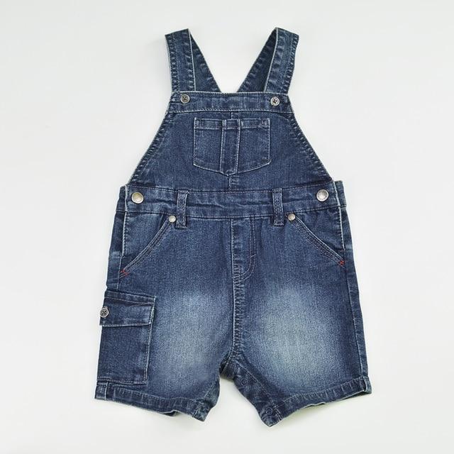 51683356caa4 Baby Shorts Denim Jeans Newborn Bebe Short Pants Jumpsuit Suspender Kids  Rompers Playsuit Patchwork Outfit Children Clothing
