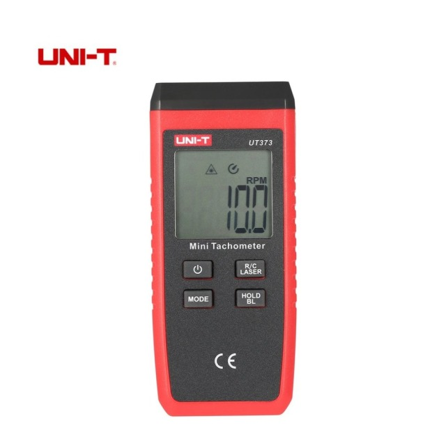 UNI-T UT373 LCD Non-contact Laser Tachometer RPM Speed Measurement Meter Handheld Digital Mini Speedometer with Back Light
