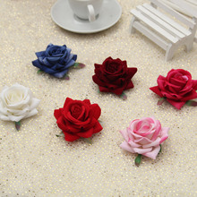 6.3 cm Artificial acessórios de cabeça DIY flor heads flores para decoração de casamento