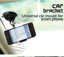 Black white Universal GPS car phone 360 Degree Rotation adjustable mobile phone holder for iPhone 5 6 Plus Samsung S7 car-stylin