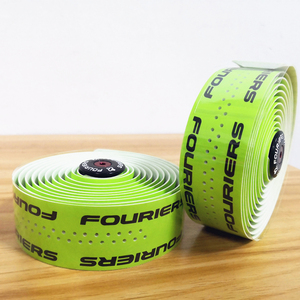 Image 1 - 1set 9 colors optional  PU Fouriers Bicycle Drop Handlebar Tape Wraps With Holes Bike Belts For Fixed Gear Road Bike Handle bar