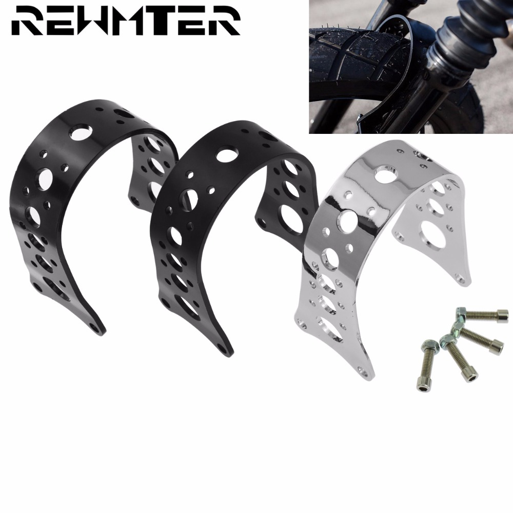 Motorcycle Openwork Pattern Front Fork Brace For Harley Sportster 883 1200 XL Iron Deluxe 1988 2017