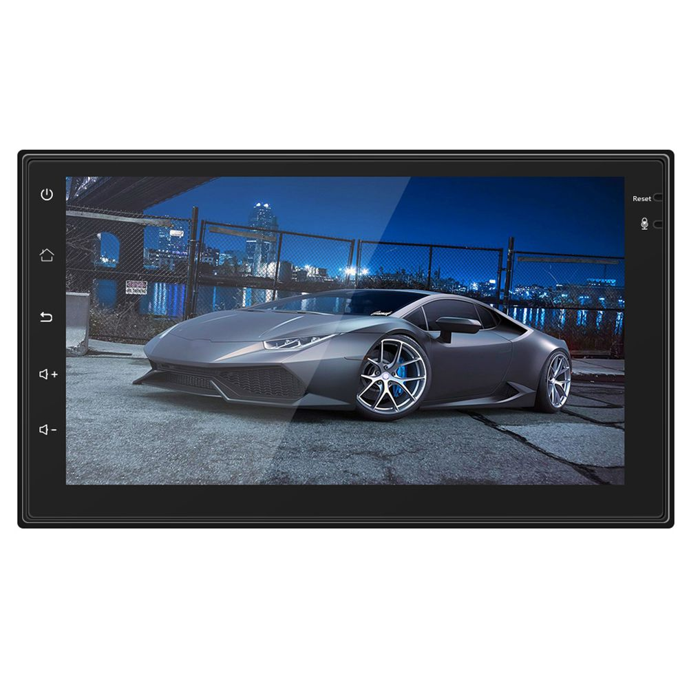 Android Car Radio mp4 mp5 player bluetooth wi-fi Navigation GPS 1G 16G touch screen 4 core 7 inch 2 DIN stereo audio (4 led ca android 7 1 7 inch touch screen car bluetooth mp5 player car two stand mp4 gps navigation integrated device