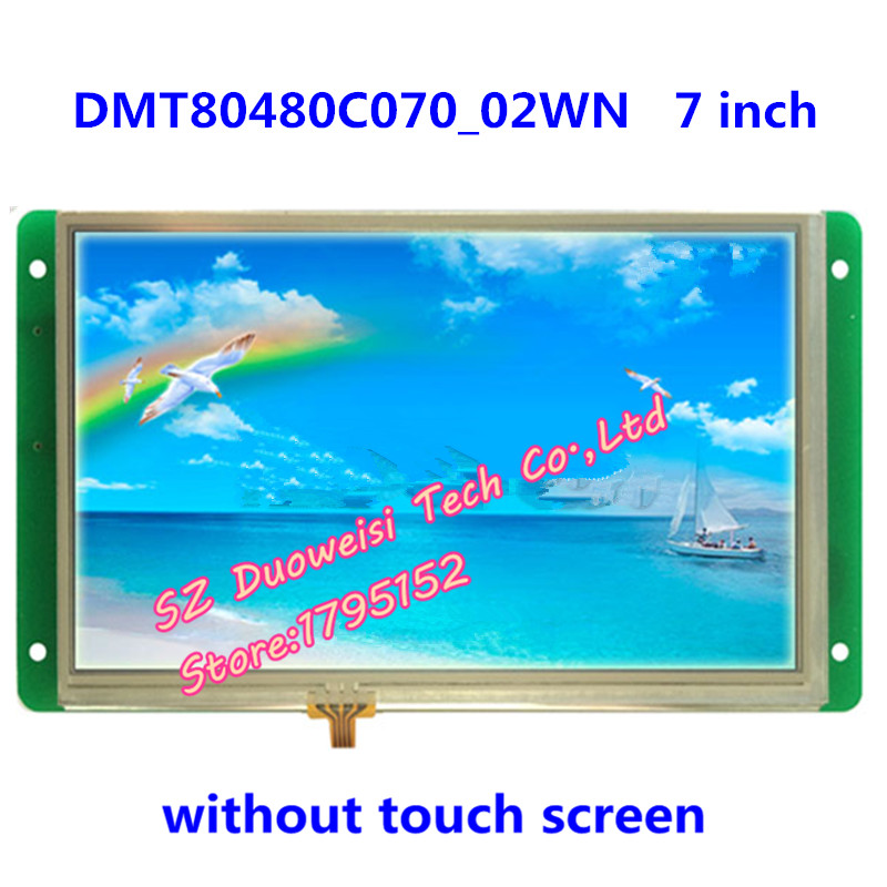 DMT80480C070_02W 7 inch non-touch display screen DGUS serial LCD screen LCD moduleDMT80480C070_02W 7 inch non-touch display screen DGUS serial LCD screen LCD module