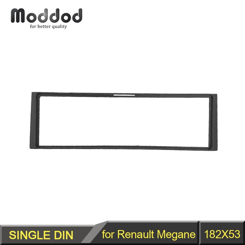 Din Radio Panel for Renault Clio Modus Megane Scenic Stereo Dash Kit Fitting Installation Fascia Frame-in Fascias from Automobiles & Motorcycles