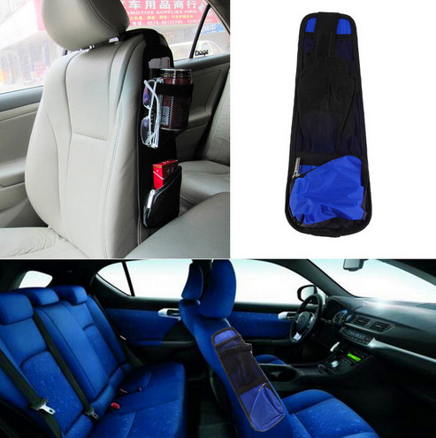 Useful Car Interior Seat Covers Hanging Bags Collector Organizing Bag with Storage Pockets Seat Bag of Chair Side