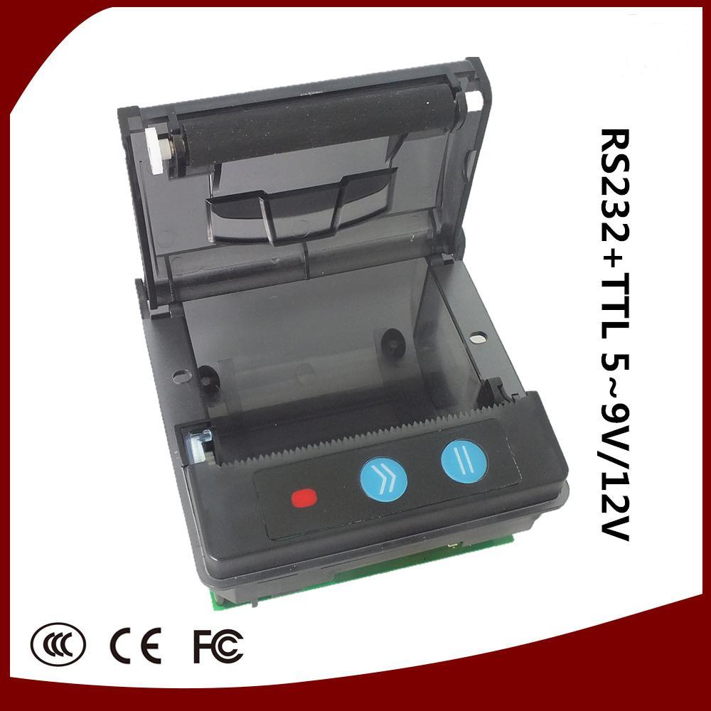 Livraison gratuite Port USB noir 58mm imprimante à reçu thermique POS imprimante à faible bruit. imprimante thermique