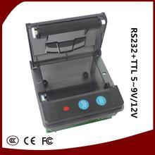 Freeshipping USB preto Porta 58mm POS impressora de Recibos térmica impressora de baixo ruído. impressora térmica
