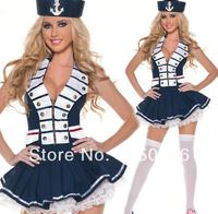 Cosplay Japanese Anime Costume Japan European Usa School Uniform Navy Blue Sailor Dress For Women Gril