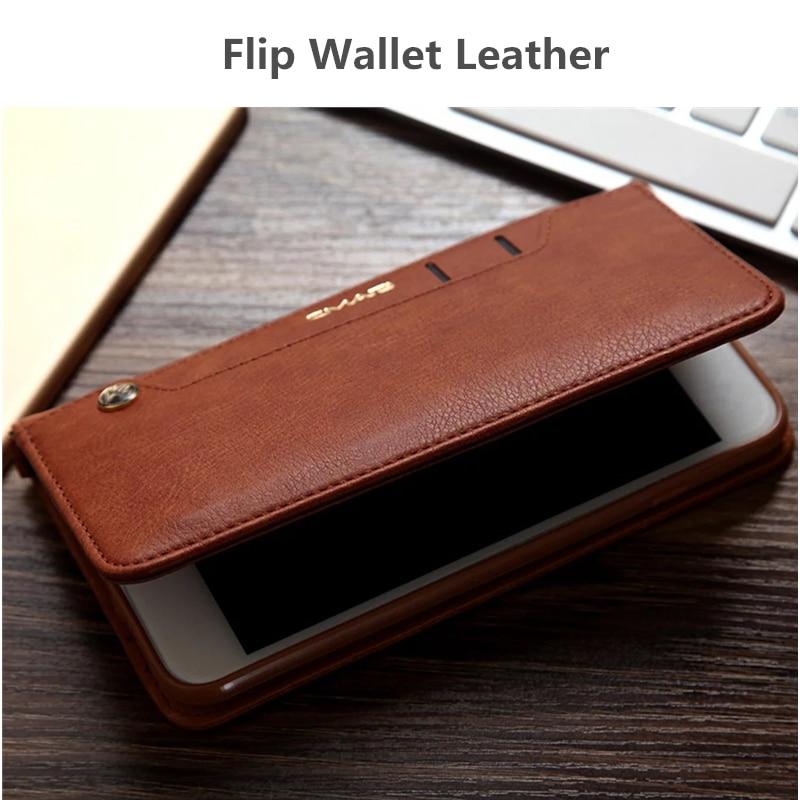 For iphone 11 Case Flip Wallet PU Կաշի կափարիչ iphone 6 6s - Բջջային հեռախոսի պարագաներ և պահեստամասեր - Լուսանկար 3