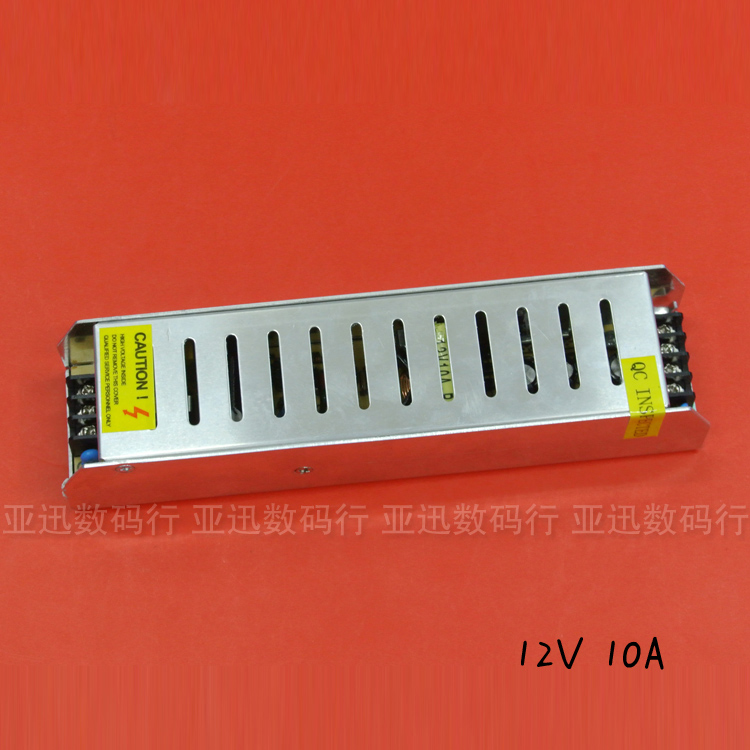 S-120-12 High quality DC12V 10A 120W LED drive Power Supply Charger for 5050/3528 2835 LED Light drive Strip power free shipping 10a 120w dc power transformers 12v 10a 120w ac100 240v s 120 12 led drive switc power supply adapter for rgb led strip 12v10a