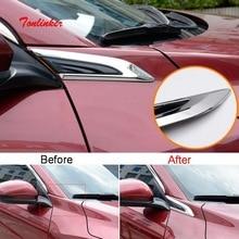Tonlinker внешнее зеркало заднего вида Наклейка для HONDA VEZEL HRV-19 автомобильный Стайлинг 2 шт. ABS хромированная крышка наклейка