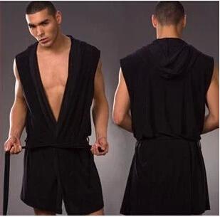 Blanco Gris Marrón Kimono Robe Hombres Al Por Mayor de Seda Albornoz Hombres Envío Gratis