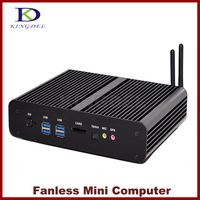 2017 New Mini PC i7 5500U Broadwell CPU Fanless Mini PC Computer Intl NUC Core i7 4650U/i7 4500U Haswell,2*LAN+2*HDMI+SPDIF,Wifi